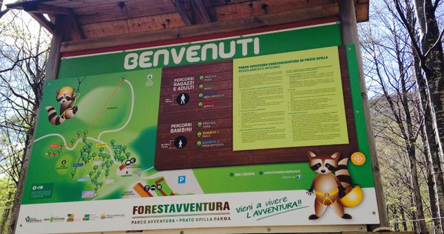 parco avventura Forestavventura